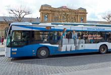 Die neue Verkehrsmittelwerbung der MVB!