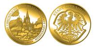 Gedenkmünze 1250 Jahre Oppenheim Gold