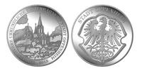 Gedenkmünze 1250 Jahre Oppenheim Silber