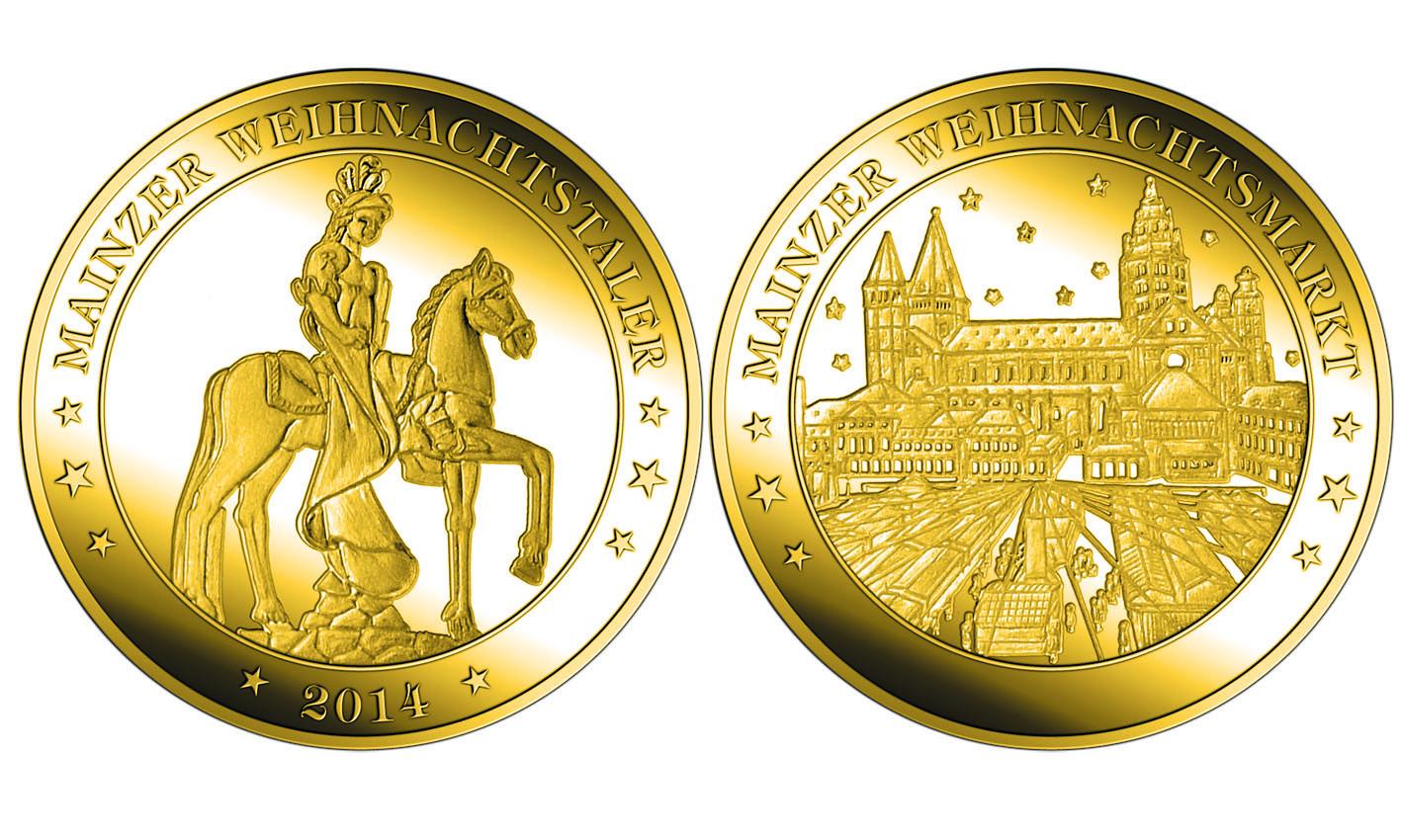Gedenkmünze 1250 Jahre Oppenheim