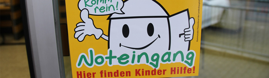 Logo Noteingang - Projekt der Stadt Mainz