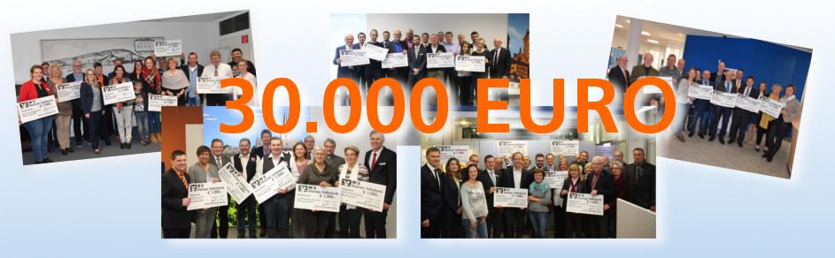 30.000 Euro Spenden von der Mainzer Volksbank