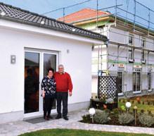 Dagmar und Peter Elsheimer bauten sich einen Traum-Bungalow.