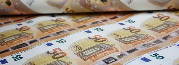 Grafik: Neue 50-Euro-Scheine