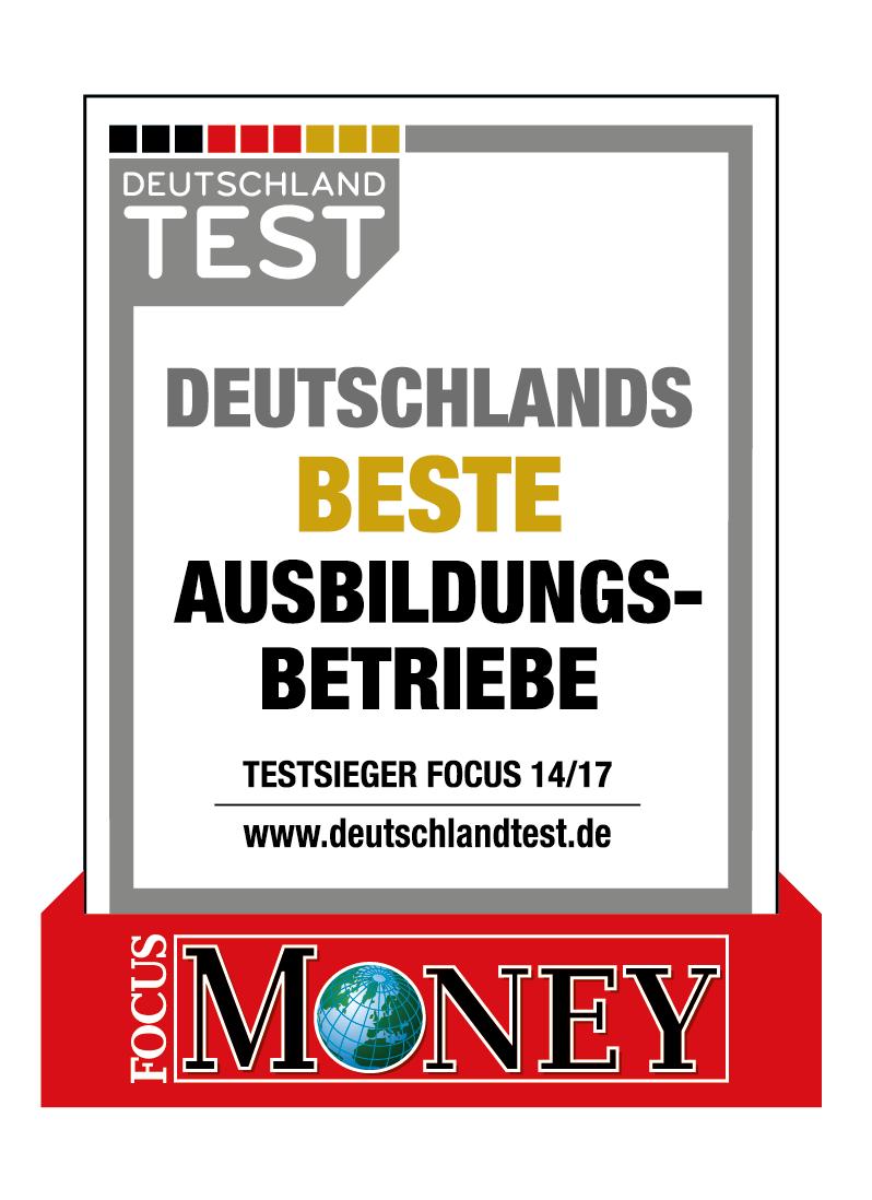 Siegel Deutschlands beste Ausbildungsbetriebe