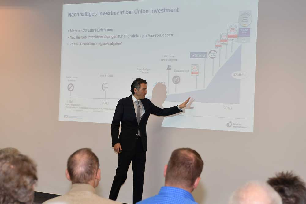 Vortrag zum nachhaltigen Kapitalmarkt bei der MVB-Anlegermesse 2018 in Mainz