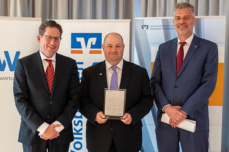 Thorsten Breyer bei der Preisverleihung zum besten FördermittelberaterInnen 2017