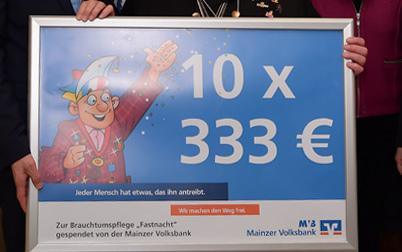 10 x 333 Euro
