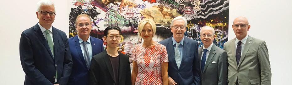 Kultur und Wirtschaft mit Petra Gerster und Ryo Kato im MVB-Forum