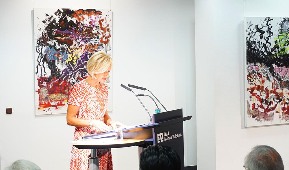 Petra Gerster im MVB-Forum