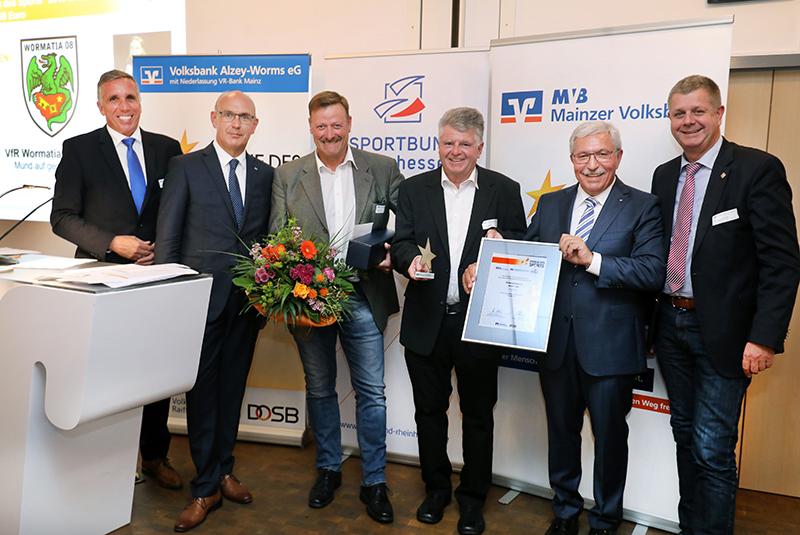 Sieger - Stern des Sports Bronze - Rheinland-Pfalz - Wormatia Worms ©Rudolf Uhrig