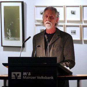 Carl Gros redet zur Ausstellung Entropie
