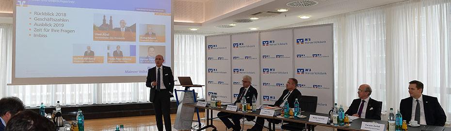Mainzer Volksbank: Bilanzpressekonferenz 2019