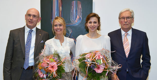 v.l.n.r.: Hr. Uwe Abel, Fr. Maike van den Boom, Fr. Katharina Reschke, Hr. Utz Heinzelmann