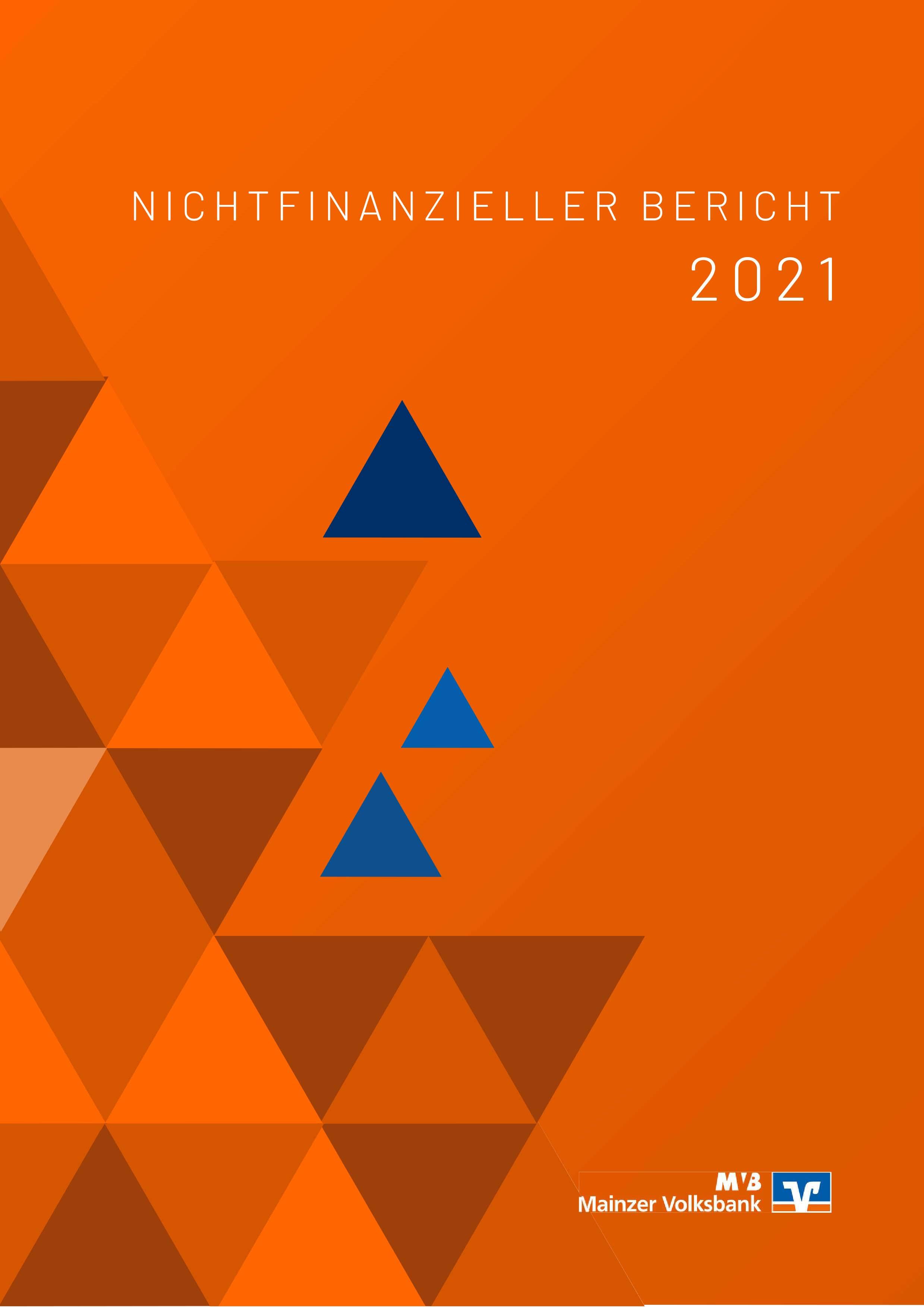 Nichtfinanzieller Bericht MVB 2018